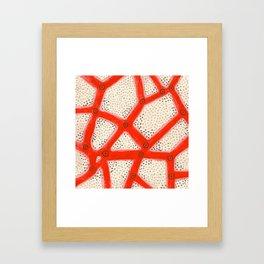 coral2 Framed Art Print