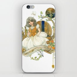 Colourful Seasons in the Forest Beautiful Childhood Fairytale iPhone Skin