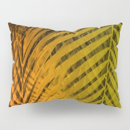 TROPICAL LEAVES GREEN MOCCA no2 Pillow Sham