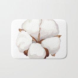 Cotton Flower 02 Bath Mat