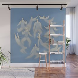 The swimmers Wall Mural
