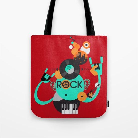 Rock Tote Bag