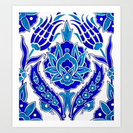 Turkish Design Art Print