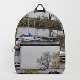 Weeping Willow and the Marina Backpack