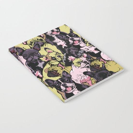 Social French Bulldog Notebook