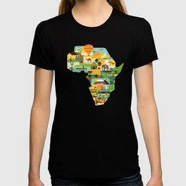 Africa Is Amazing - A Detailed Illustrated African Culture Design T-shirt