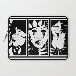 Marble 10 Triptych Laptop Sleeve