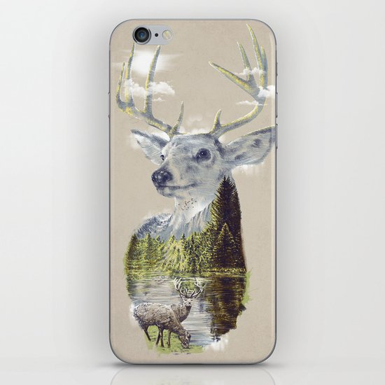 Mo'deer' Nature iPhone & iPod Skin