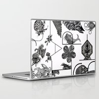 letters Laptop & iPad Skins featuring Letters by Isabella Polly