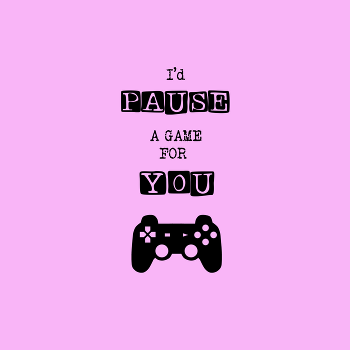 I Paused My Game For You Gamer Couples Meme Gift Comforters