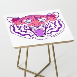 Pink Endangered Side Table