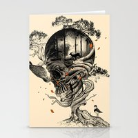 forest Stationery Cards featuring Lost Translation by nicebleed