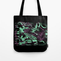 science Tote Bags featuring Science by Fuacka