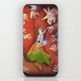 Zombie Unicorn V02 iPhone Skin