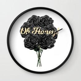 oh honey! Wall Clock