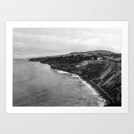 San Pedro, CA - II Art Print