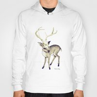 bambi Hoodies featuring Bambi by Emilie Steele