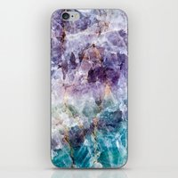 crystals iPhone & iPod Skins featuring crystals  by lokyic