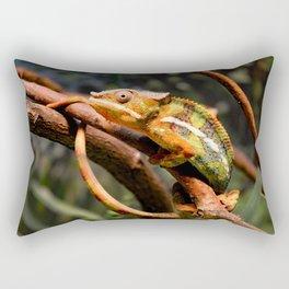 Panther Chameleon Rectangular Pillow