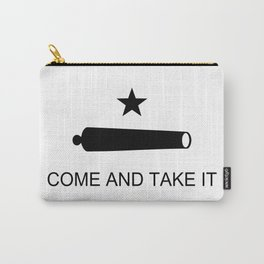 Texas Come and Take it Flag (high quality image) Carry-All Pouch