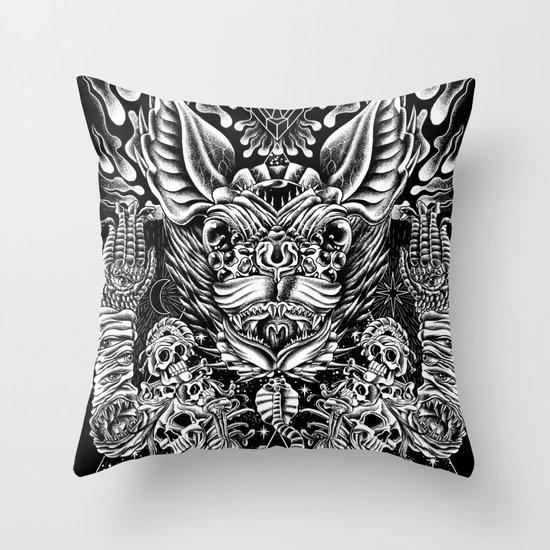 Haunter of the Dark Throw Pillow
