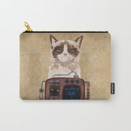 'Postapocalyptic' style Cheshire cat (Alice in Wonderland) Carry-All Pouch