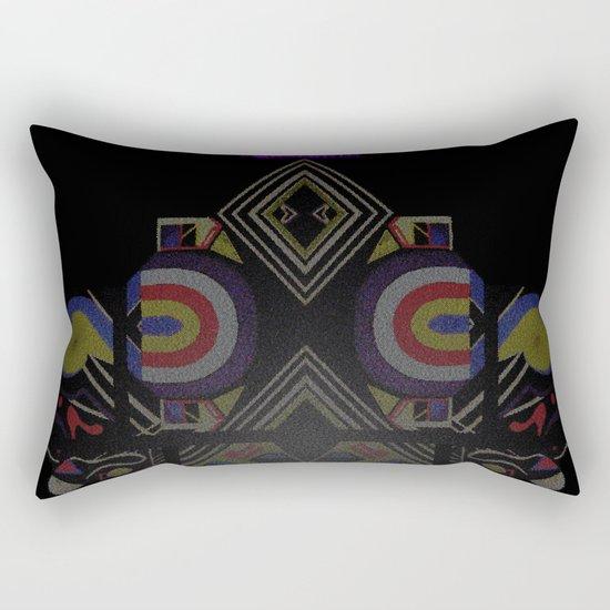 Mandalic Altar I Rectangular Pillow