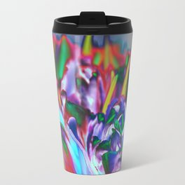 Colored Tulips Travel Mug
