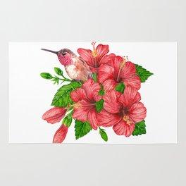 Tropical bouquet Rug