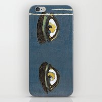 gatsby iPhone & iPod Skins featuring Gatsby Stare  by Julia Lopez
