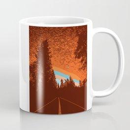 Two Lanes in the Fall Coffee Mug