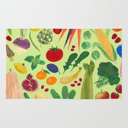 Fruits and Veggies Rug