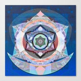 Time Machine Peace Illumination Star Print Canvas Print