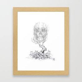 Extinction  Framed Art Print
