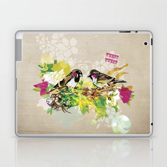 Tweet Tweet Laptop & iPad Skin