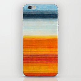 Yellowstone Orange iPhone Skin