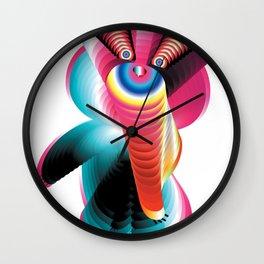 Misha The Bear, Soviet Olympic Icon Re-imagined Wall Clock