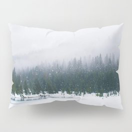 Evergreen Winter Forest (Color) Pillow Sham