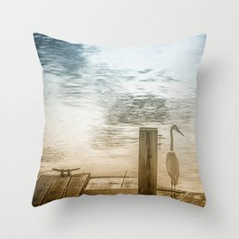 BE STILL... Throw Pillow