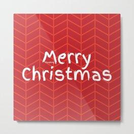 Merry Freaking Christmas Metal Print