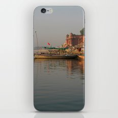 Reflections in the Ganges iPhone & iPod Skin