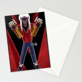 Thriller Time Stationery Cards