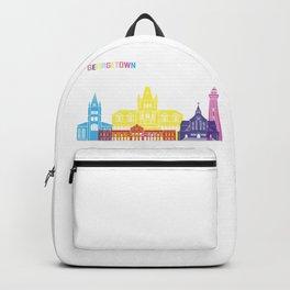 Georgetown skyline pop Backpack