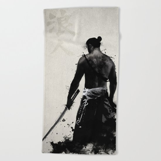 Ronin Beach Towel