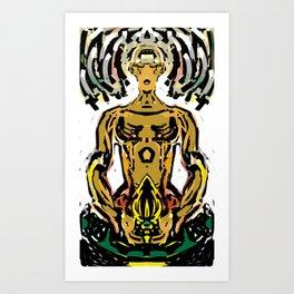 meditatron Art Print