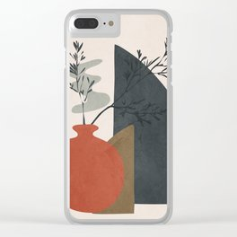 Abstract Elements 12 Clear iPhone Case