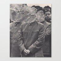 china Canvas Prints featuring China by Jordan Clark