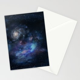 the galaxy Stationery Cards