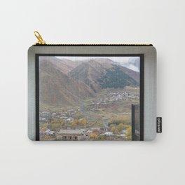 View of Mount Kazbegi, Georgia Carry-All Pouch