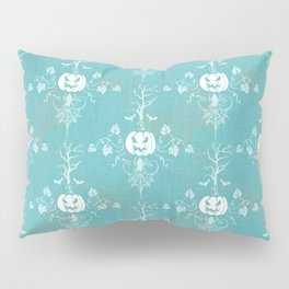 Vintage Halloween in Turquoise Pillow Sham